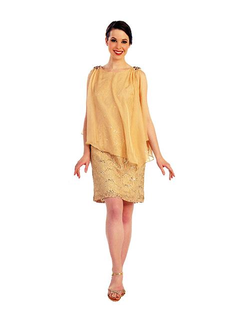 Vestido de Cerimónia Ref. 20 1350