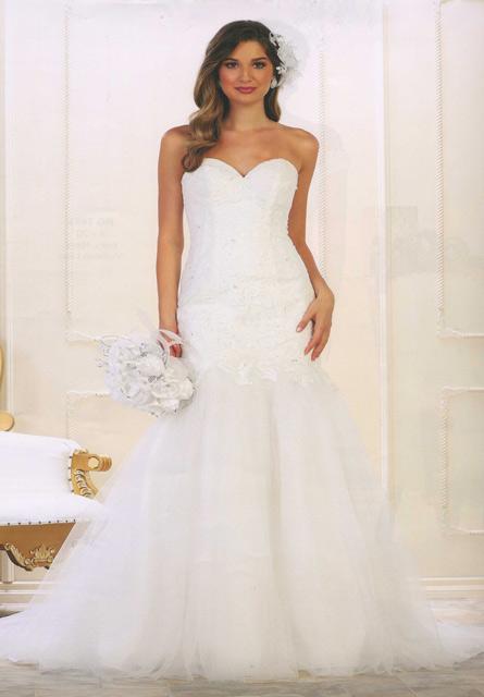 Vestido de Noiva Ref. 08 7600