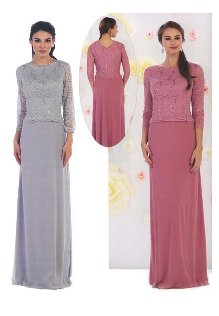 Vestido de Cerimónia Ref. 08 1412